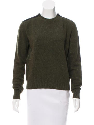 Stella McCartney Wool Crew Neck Sweater None
