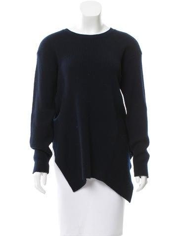 Stella McCartney Virgin Wool Rib Knit Sweater None