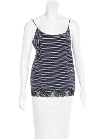 Stella McCartney Polka Dot Silk Top w/ Tags None