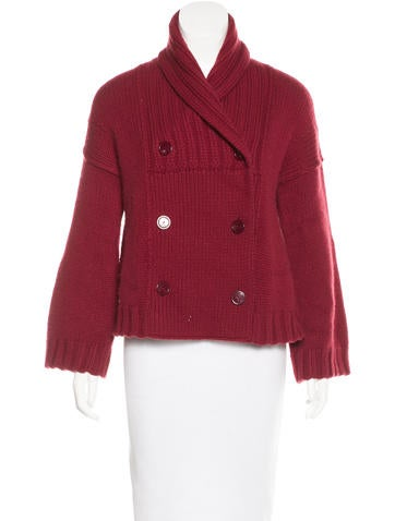 Stella McCartney Heavyweight Virgin Wool Cardigan None
