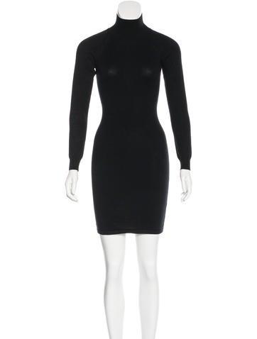 Stella McCartney Turtleneck Knit Dress None