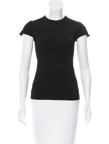 Stella McCartney Crew Neck Short Sleeve Top None