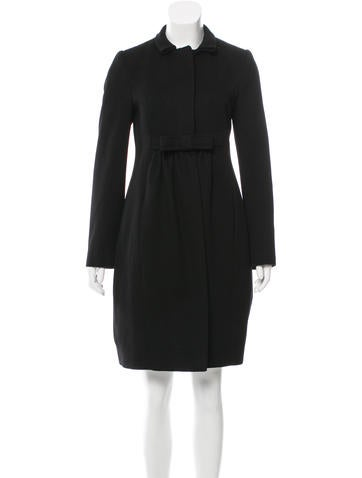 Stella McCartney Wool & Cashmere-Blend Coat