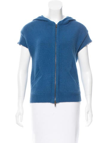 Stella McCartney Intarsia Rib Knit Cardigan None
