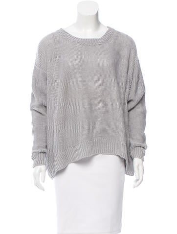 Stella McCartney Linen Oversize Sweater None