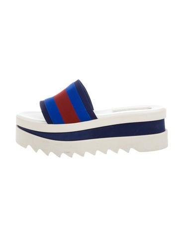 Striped Flatform Sandals