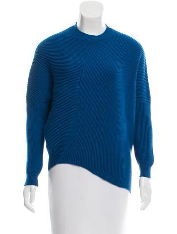 Stella McCartney Asymmetrical Wool Sweater w/ Tags None