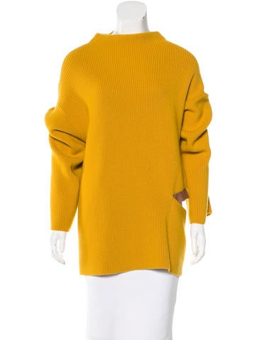 Stella McCartney Wool Cutout Sweater w/ Tags None