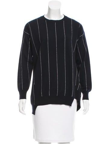Stella McCartney Wool Striped Sweater None