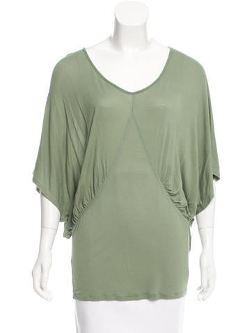 Stella McCartney Oversize Short Sleeve Top None