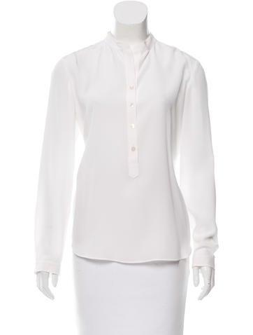 Stella McCartney Silk Long Sleeve Top w/ Tags None