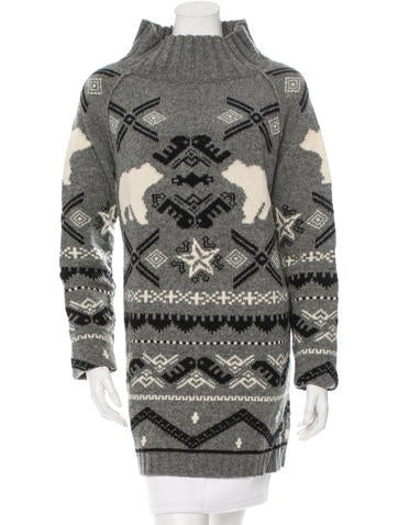 Stella McCartney Wool Patterned Tunic None