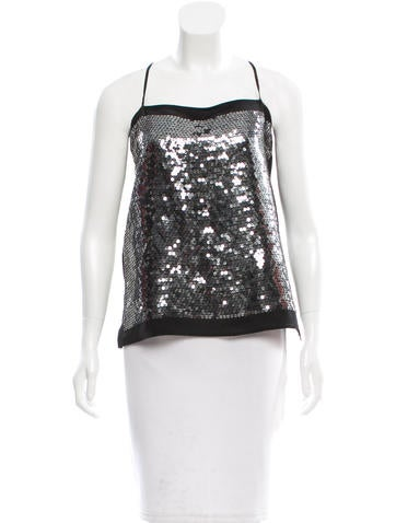 Stella McCartney Silk Embellished Top None