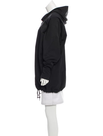 Hooded Pullover Jacket