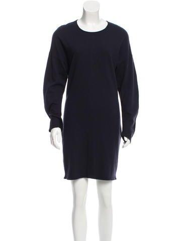Stella McCartney Two-Tone Wool Dress None