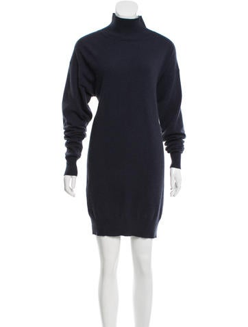 Stella McCartney Wool & Angora-Blend Dress None