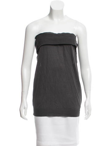 Stella McCartney Sleeveless Rib Knit Sweater None