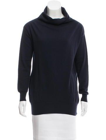 Stella McCartney Virgin Wool Cowl Neck Sweater None
