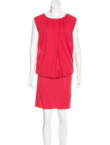 Stella McCartney Draped Sleeveless Dress None