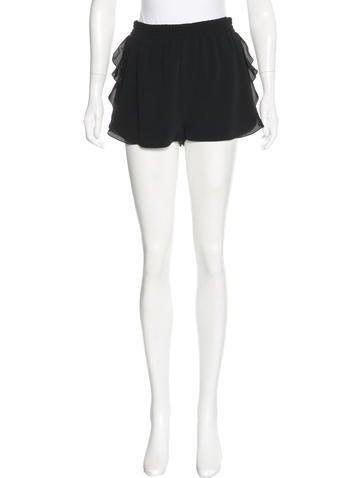Stella McCartney Ruffle-Accented Mini Shorts w/ Tags None