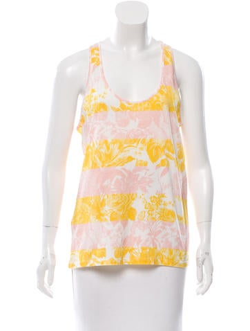 Stella McCartney Printed Sleeveless Top w/ Tags None