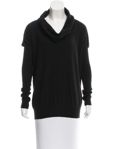Stella McCartney Wool Cowl Neck Sweater None