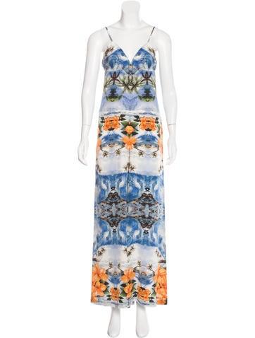 Stella McCartney Silk Printed Jumpsuit None