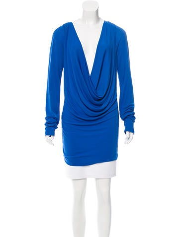 Stella McCartney Draped Long Sleeve Tunic None