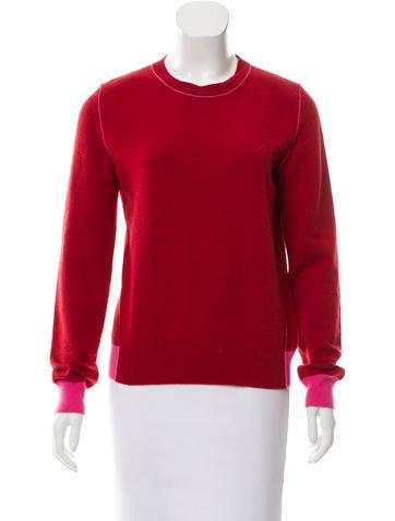 Stella McCartney Cashmere Crew Neck Sweater None