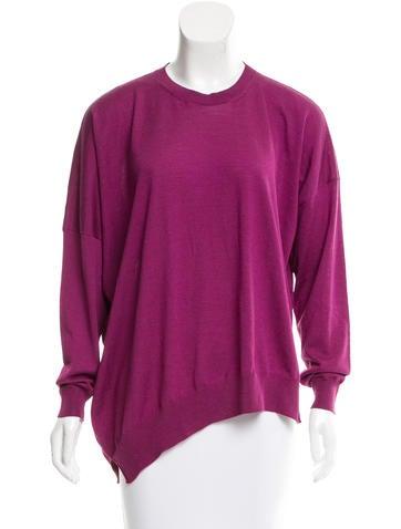 Stella McCartney Virgin Wool Oversize Sweater None