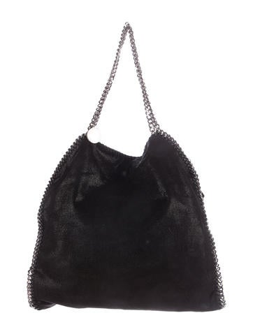 Stella McCartney Large Shaggy Deer Falabella Tote None
