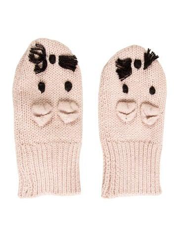 Stella McCartney Girls' Knit Mopsey Mittens w/ Tags None