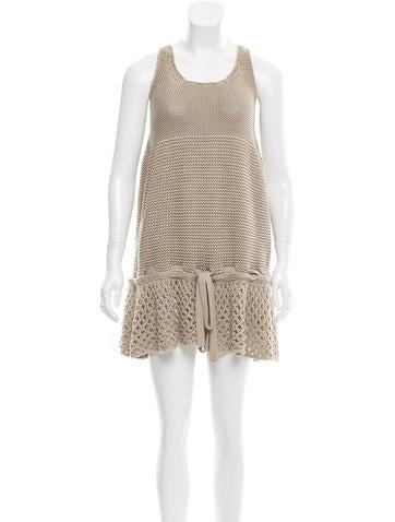 Stella McCartney Sleeveless Mini Dress None