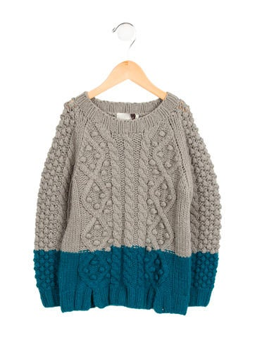 Stella McCartney Girls' Wool Knit Sweater w/ Tags None
