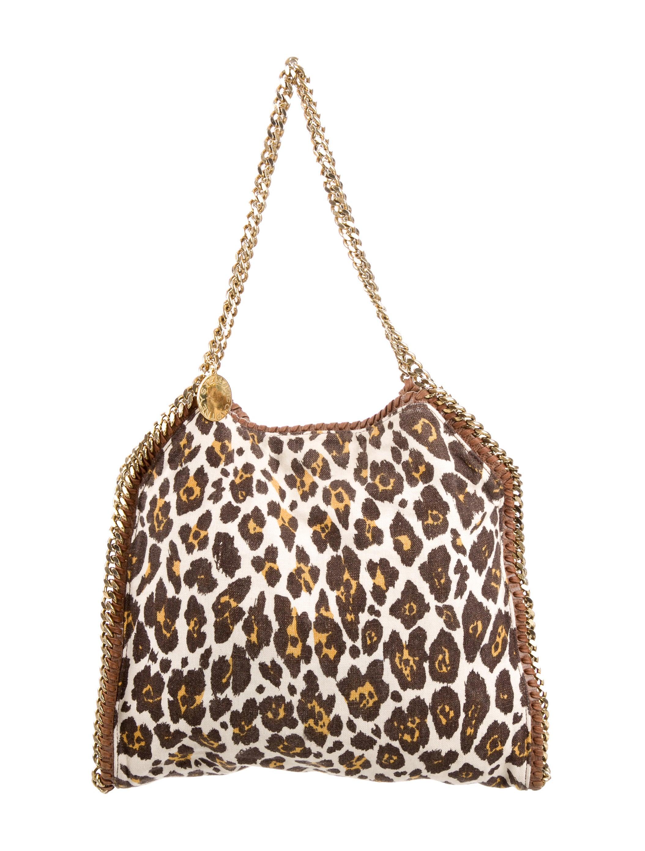 cf78269dc063 Stella McCartney Small Falabella Leopard Print Tote - Handbags ...
