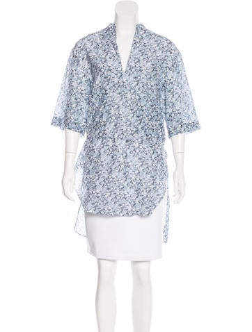 Stella McCartney Printed Short Sleeve Tunic None