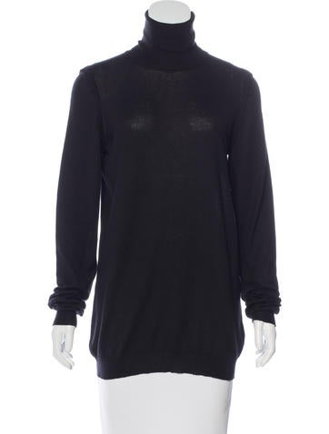 Stella McCartney Turtleneck Long Sleeve Sweater None