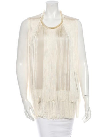 Stella McCartney Silk Top None