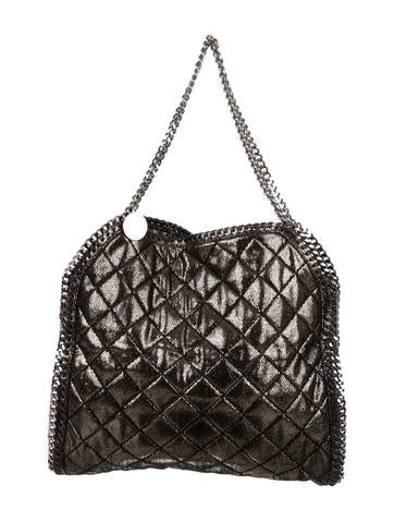 Stella McCartney Quilted Shaggy Deer Small Falabella Tote w/ Tags None