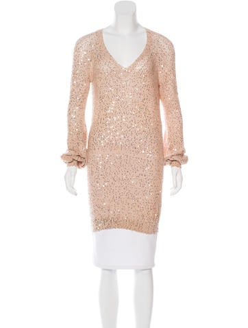 Stella McCartney Sequin Tunic Sweater None