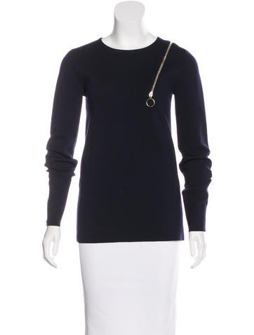 Stella McCartney Zip Wool Sweater w/ Tags None