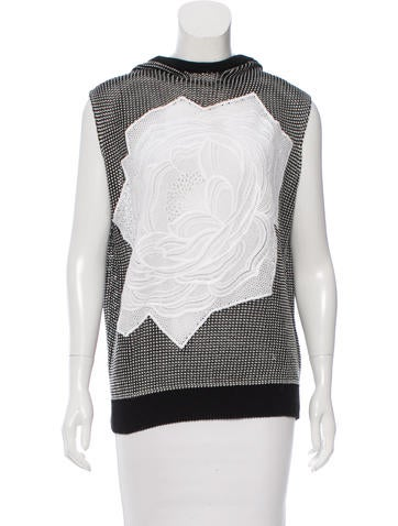 Stella McCartney Embroidered Knit Top None