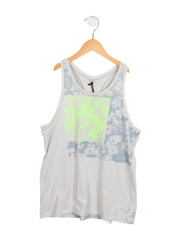 Stella McCartney Girls' Printed Sleeveless Top w/ Tags None