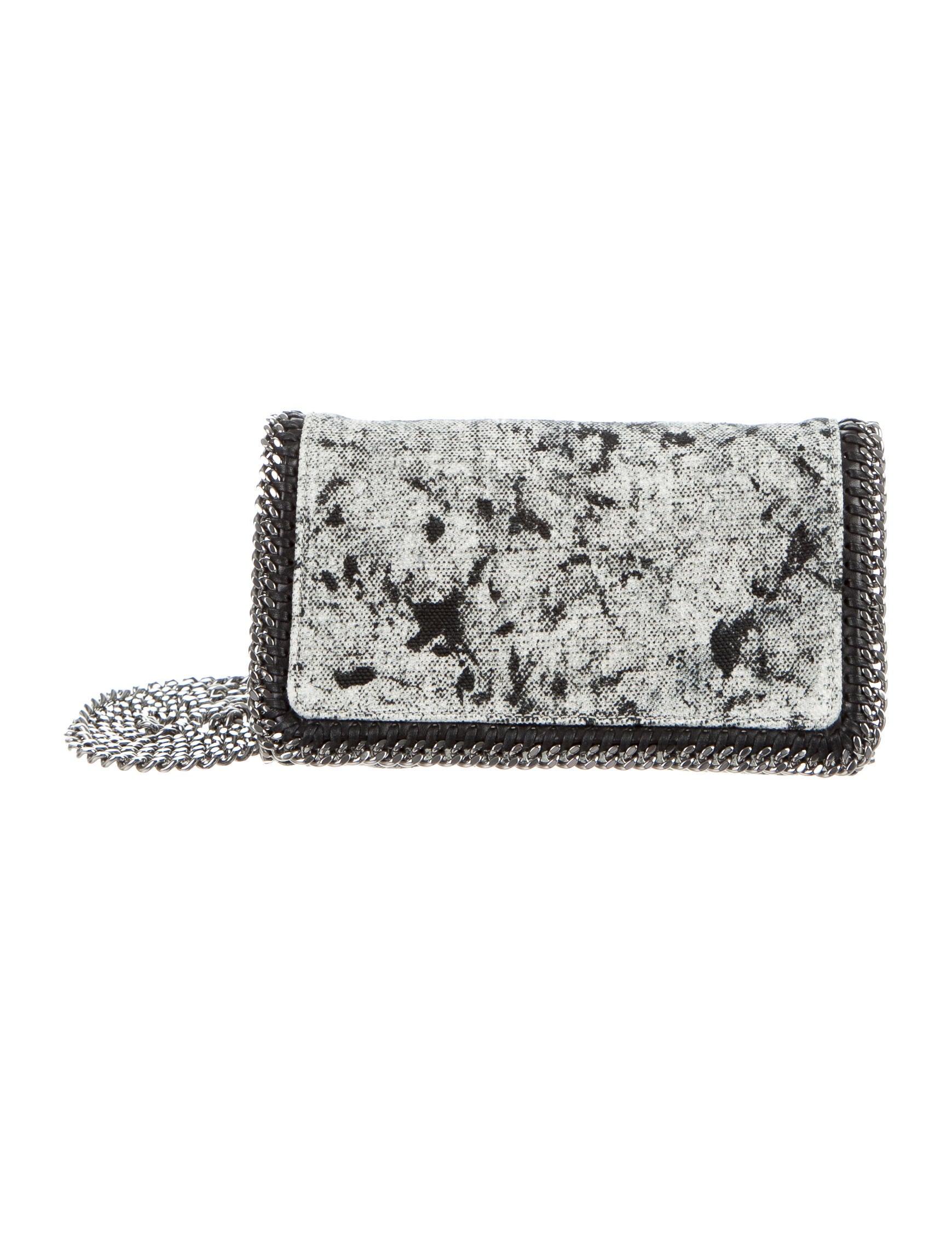 be22f02b3683 Stella McCartney Falabella Splash Canvas Crossbody Bag - Handbags ...