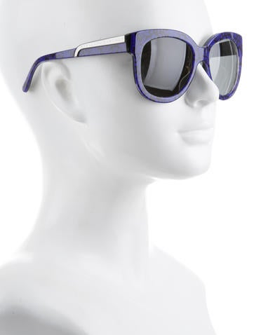 Oversize Tinted Lens Sunglasses