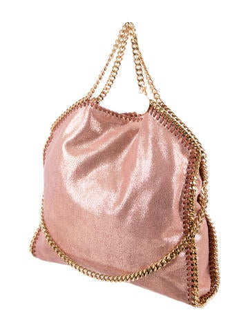Shaggy Deer Falabella Fold-Over Tote
