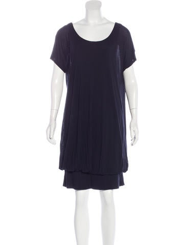 Stella McCartney Asymmetrical Draped Dress ca None