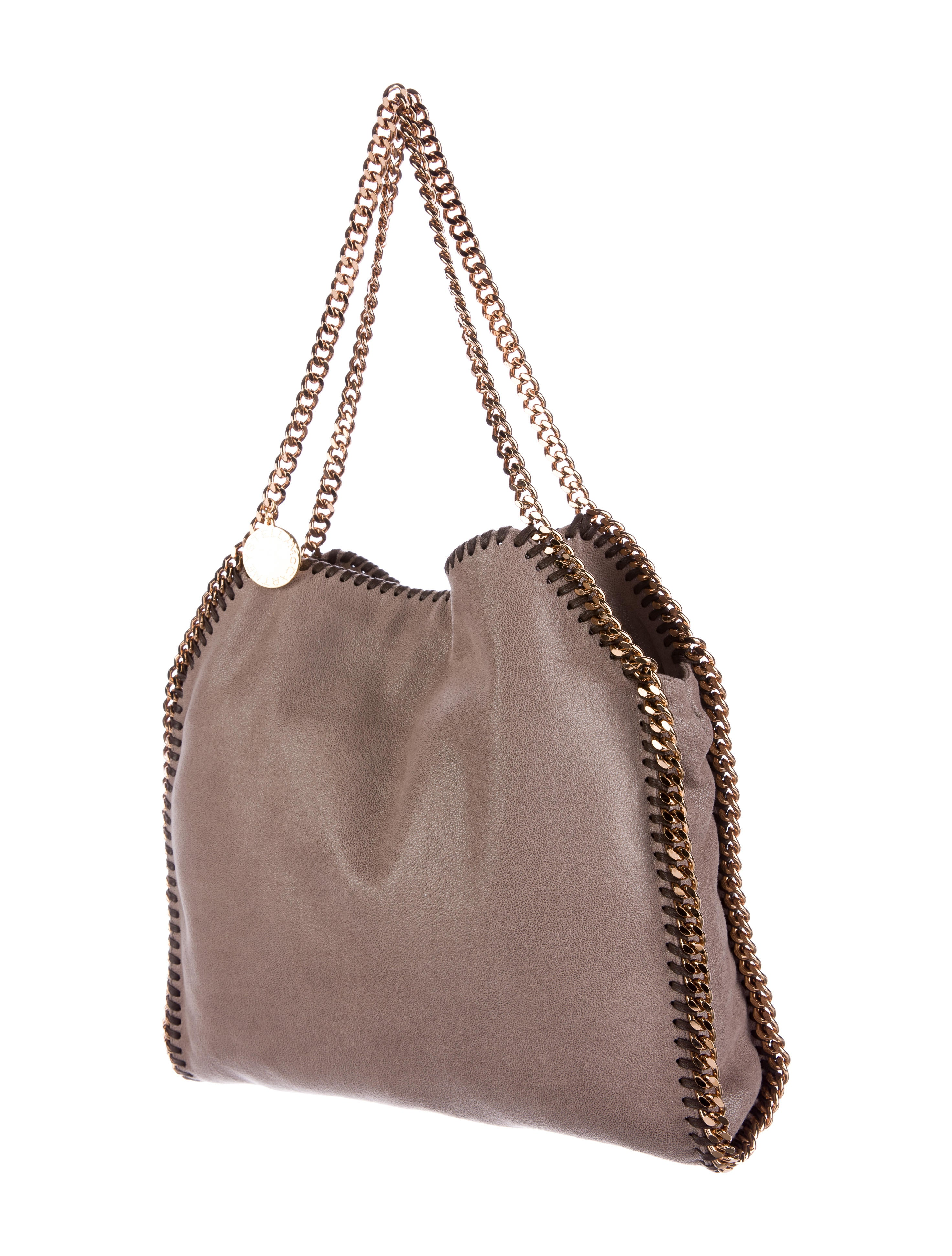 stella mccartney falabella shaggy deer tote handbags stl47623 the realreal. Black Bedroom Furniture Sets. Home Design Ideas