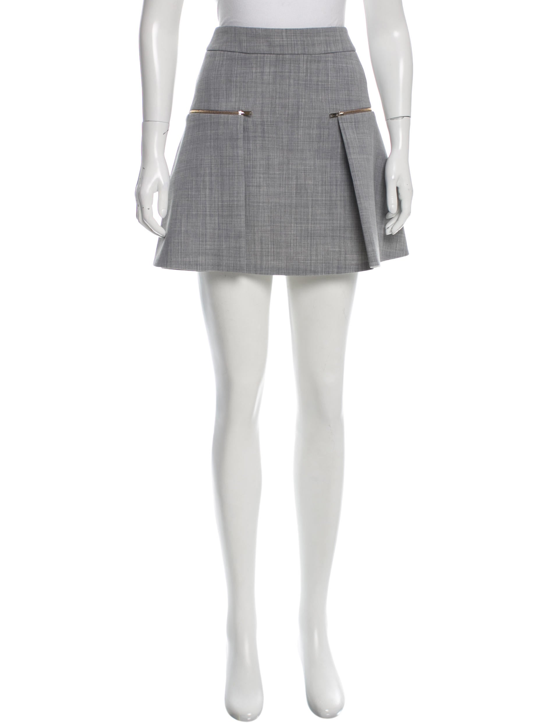 stella mccartney a line wool skirt clothing stl47643