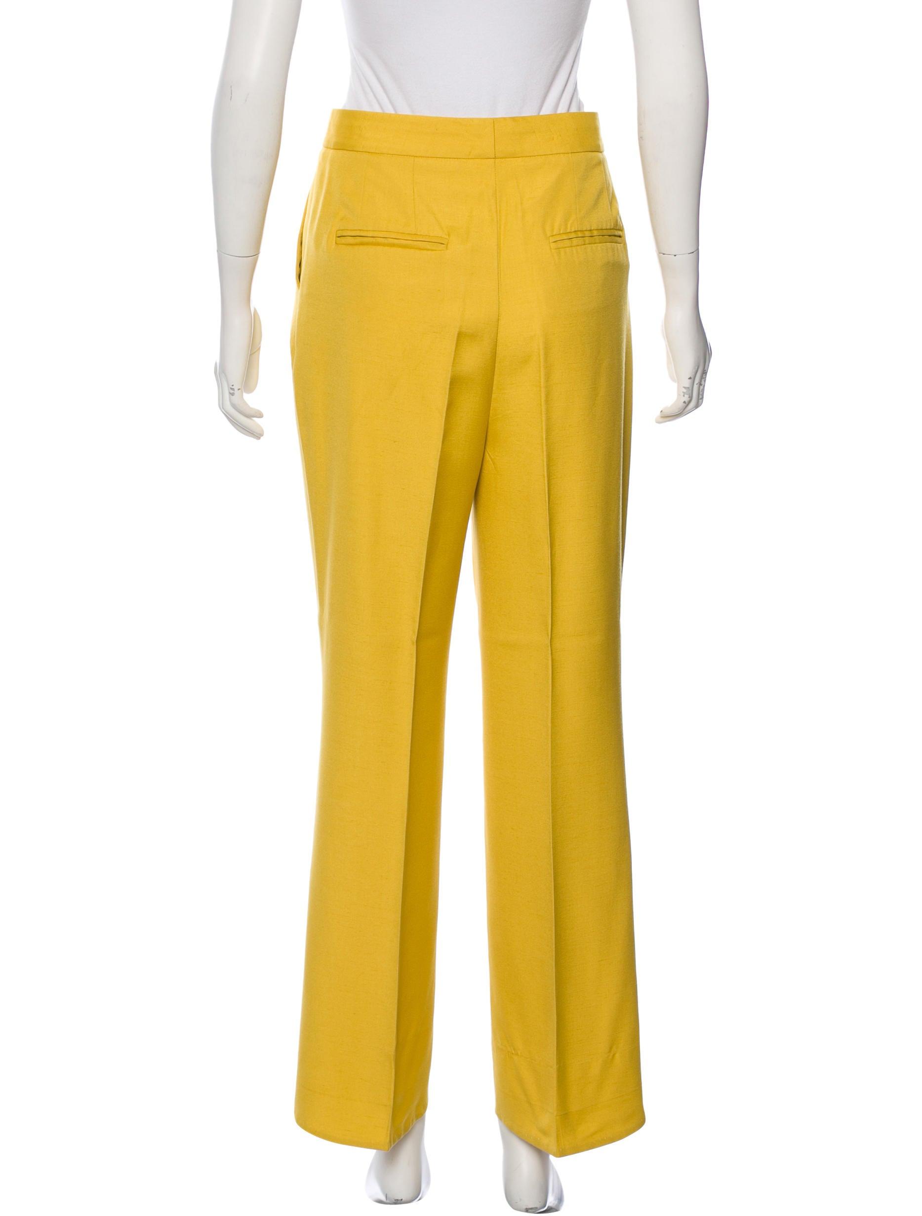 Amazing Aliexpresscom  Buy Women Vintage Velvet Pleated Wide Leg Pants Side